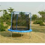 Picture of 10 ft trampoline and enclosure