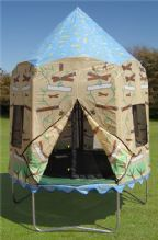 7.5ft Treehouse Tent- Bozoongi Jumppod Trampoline