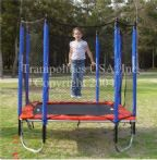 8' x 8' Square Trampoline Enclosure