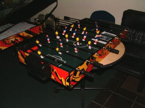 Basketball Air Hockey And Foosball Table In One