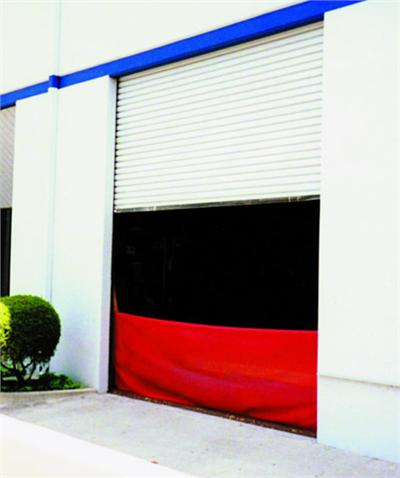 Roll-Up Door Mesh Screen
