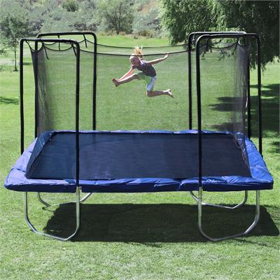 15ftx15ft square skywalker trampoline model swtcs15