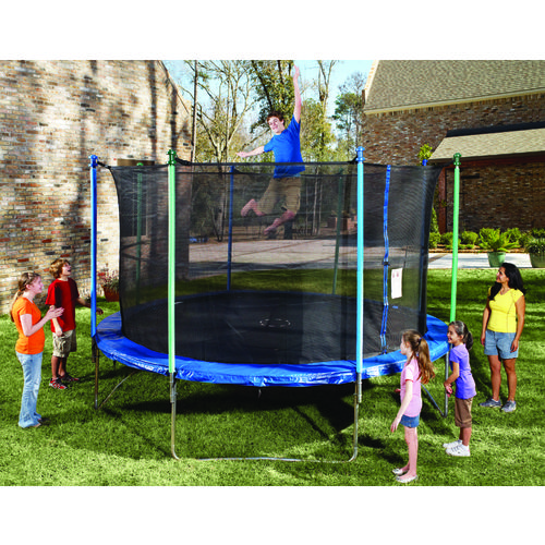 Propel 14 Trampoline With Fun Ring Enclosure: 14' Jump Zone Trampoline Parts Model YSLJZOG1000