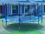 Oval & Octagon Trampoline Enclosures