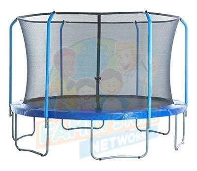 15' SPORTSPOWER Trampoline and Enclosure Parts for Model TR-156COM-FLX - Blue