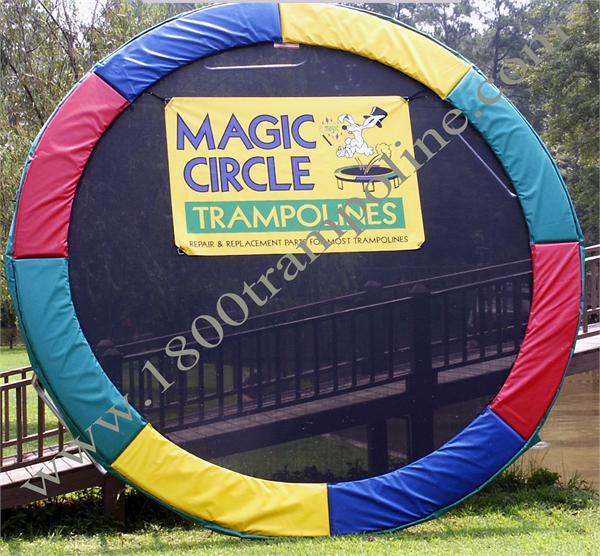 "13' 6"" Round Deluxe Magic Circle Trampoline"