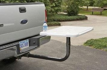 Adjustable Hitch Receiver >> TailGator Hitch Mounted Table