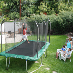 trampoline 8' x 14' Skywalker Summit Rectangle Trampoline Enclosure Combo at Sears.com