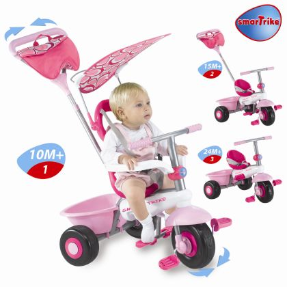 ... Smart Trike Recliner 4 in 1 pink  sc 1 st  1800 Tr&oline & Smart Trike Recliner 4 in 1 islam-shia.org