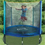 8ft PURE FUN Kids Trampoline & Enclosure Set