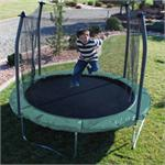10ft Round Trampoline and Enclosure
