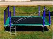14' x 16' RECTANGLE TRAMPOLINE AND ENCLOSURE