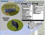 8ft x 12ft VARIFLEX Rectangle Trampoline with Enclosure