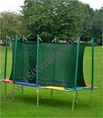 9'x14' Rectagon Trampoline and Enclosure