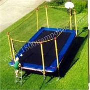9' x 16' RECTANGLE TRAMPOLINE AND TRAMPOLINE ENCLOSURE