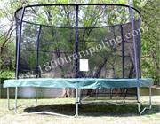 14ft Round Orbounder Model 1414 Trampoline Combo