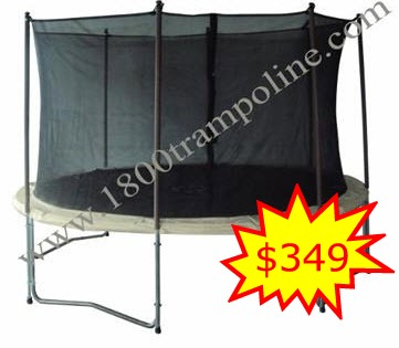 13' Sportspower Trampoline with Enclosure
