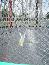 Net Lock System For Trampoline Enclosures