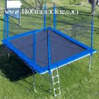 15x17 Rectangle Trampoline Enclosure, 15x15 Square Trampoline Enclosure
