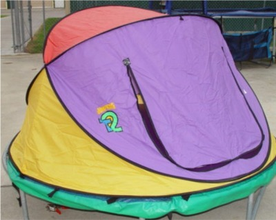 Jump King 6u0027 Round Tr&oline Tent & JumpKing Tent for 6u0027 Round Trampoline