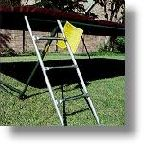 3 Step trampoline ladder for Rectangle trampolines (40in)