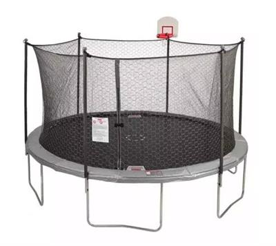 14ft DunkZone Trampoline and Flex Shield Enclosure Parts for