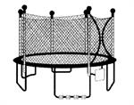 1220 Model - Leisure Kingdom - Sky Bouncer Trampoline Replacement Parts