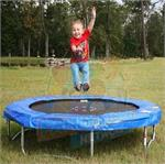 6' SPORTSPOWER Trampoline and Enclosure Parts Model 609C