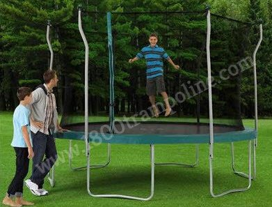 12' SPORTSPOWER Model TR-12COM-PR6P Trampoline and Enclosure Parts
