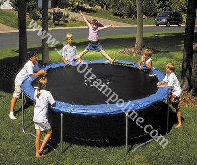 12ft SPORTSPOWER Trampoline Parts Model TR-12-M