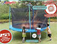 13' Jump Pro Trampoline and Enclosure Parts Model TR-1342-L