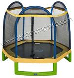 "88"" Hexagon Jump Zone Trampoline and Enclosure Parts Model YSLJZOG1026"