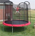 12ft Round Skywalker Trampoline Parts - 80 Rings-Model STSC12RE