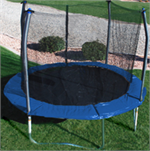 10ft Round SKYWALKER Trampoline Parts - 64 Rings - Model SWTC1091