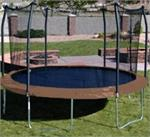 15' Round SKYWALKER Trampoline Parts - 96 Rings - Model OWTC15