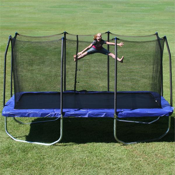 9 X15 Rectangle Skywalker Trampoline And Enclosure Combo