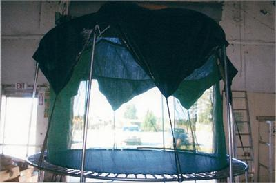 13ft 6in Round Magic Canopy Top. & 13u00276