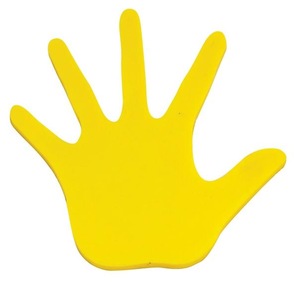 Handprint Poly Pads