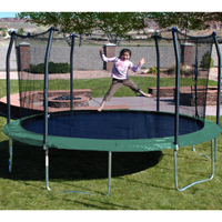 17ft X 15ft SKYWALKER Oval Trampoline and Enclosure