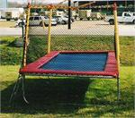 9x17 Texas Trampoline with Enclosure
