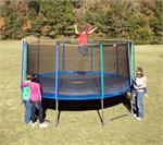 15ft PURE FUN Trampoline & Enclosure Combo