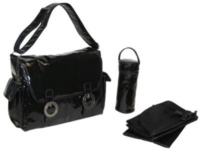 Coated Double Buckle Bag