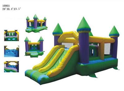 Commercial Bounce And Slide Castle 2