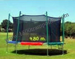 16' Ultimate Magic Cage Trampoline and Enclosure Combo