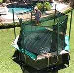14ft Hexagon Trampoline and Enclosure