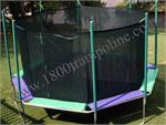 16' Octagon Trampoline and Enclosure