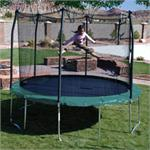12ft Round Trampoline and Enclosure