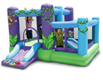 Zoo Park Inflatable Bounce House with Ball Pit