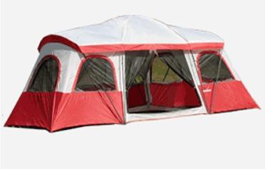 4 Room - 10 Person Tent & 10 Person Tent - 18.5u0027 x 13u0027